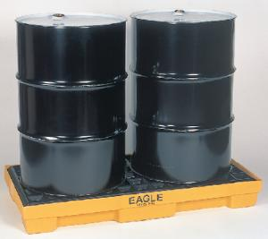 Modular Spill Containment Platforms with Grating, Eagle Manufacturing