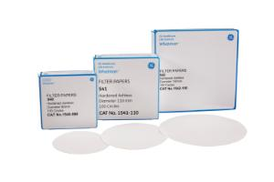 Whatman Quantitative Filter Papers, Hardened Ashless Grades, Grade 541, GE Healthcare