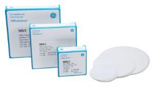 Whatman Quantitative Filter Papers, Ashless Grades (ash 0.01%), Grade 589/1, GE Healthcare